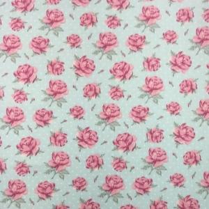 49 - Floral Rosa Cinza