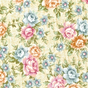 N – Floral Bege