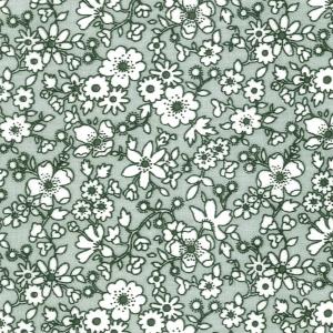 Y – Floral Cinza