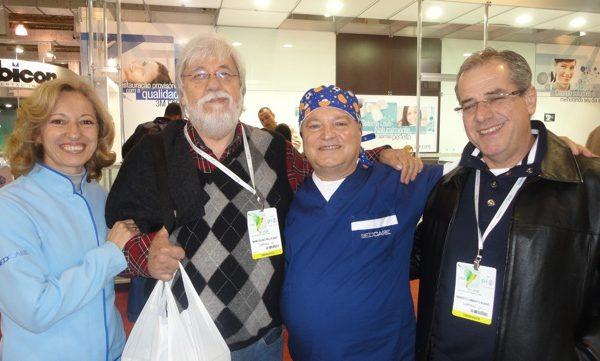 Prof. Dr. Marcolino Pelicano , Dr. Antonio Ramacciato e Dr. Umberto Bueno
