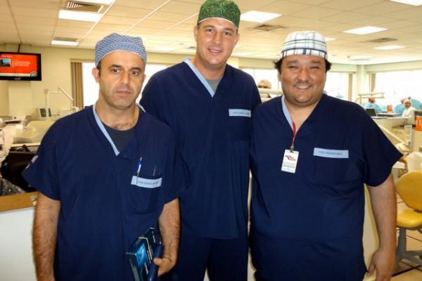 Dr. Márcio Martins , Dr. Marcelo Grandi , Dr. Eduardo Mukai – APCD – SP