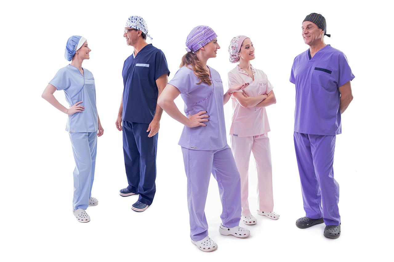 Pijamas cirúrgicos, lisos